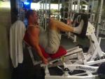 10 Aug 06 - Deep leg press